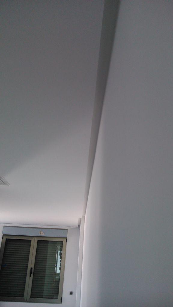 Techos de escayola con luz indirecta aplique de yeso de luz indirecta cuadrado with techos de - Luz indirecta techo ...
