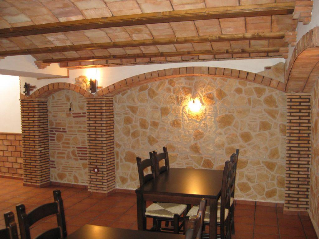 Decoracion de techos rusticos estilo rstico con techo a - Techos rusticos interiores ...