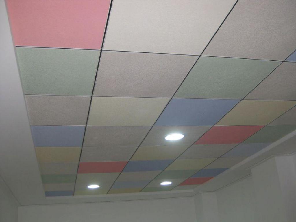 Placas techo registrable materiales de construcci n para la reparaci n - Placas de yeso para techos ...