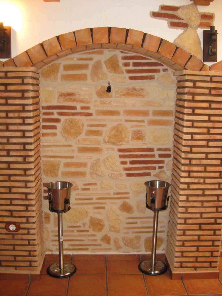 Decoraci n y escayola jmdecoraci joaquin montaner for Arcos de ladrillo rustico